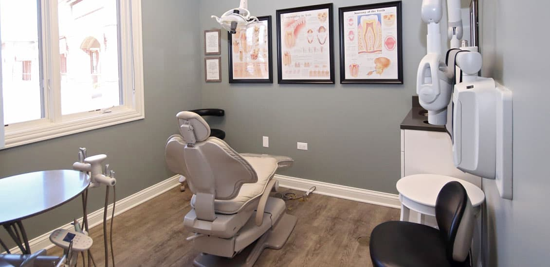 Patient dental treatment room