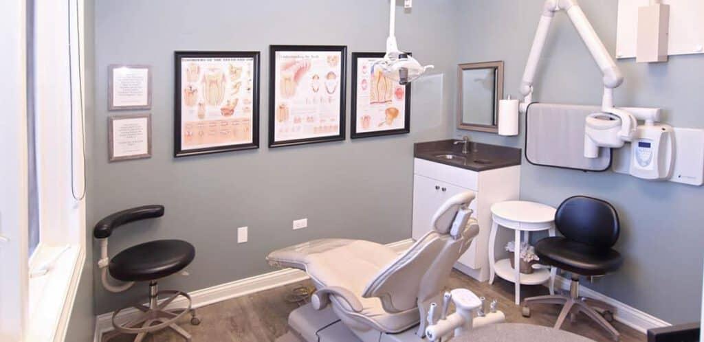 Cary Family Dentistry treatment room